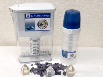 本物の宝石を水に!WORLD GEM WATER で健康になろう!